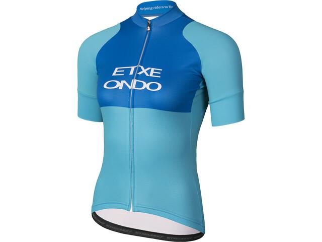 Etxeondo Ona Training Jersey korte mouwen Dames, blauw